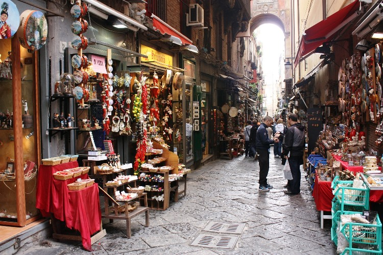 Naples 1 Maria Visites avec Guide