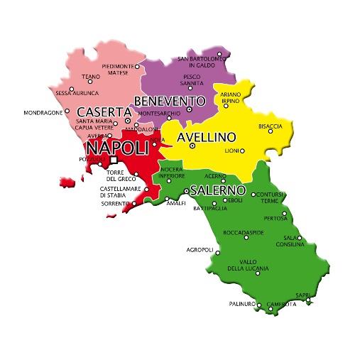 Region Naples Visites avec Guide