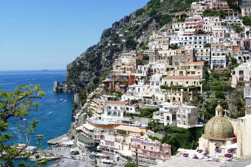amalfi-falaise Cote Amalfitaine Visites avec Guide