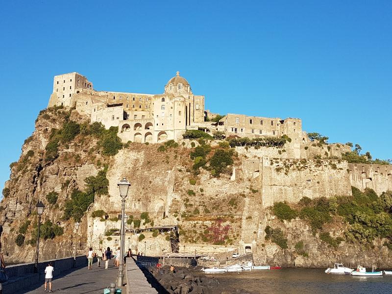 ischia-castello Cote Amalfitaine Visites avec Guide