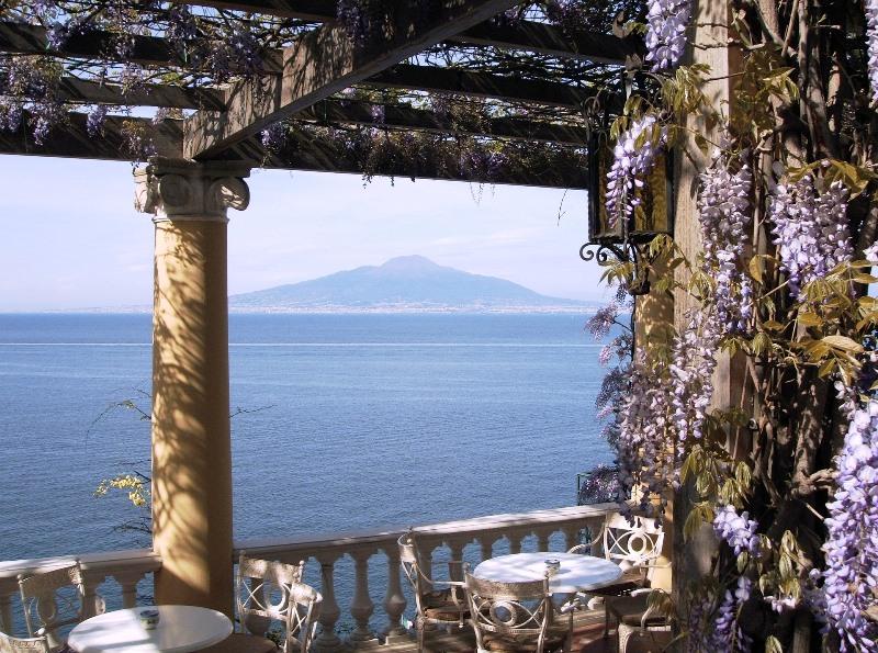 vesuvio vue Cote Amalfitaine Visites avec Guide
