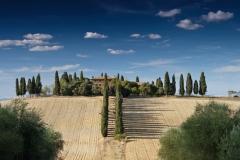 visite avec guide Toscane colline