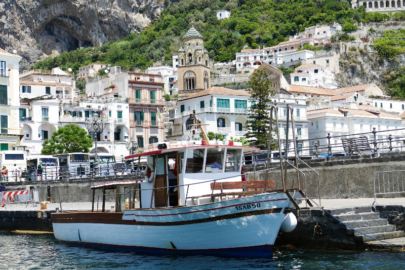 amalfi-porto Cote Amalfitaine Visites avec Guide