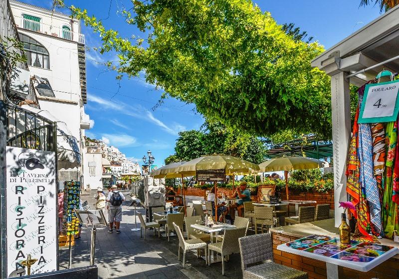 positano-rue Cote Amalfitaine Visites avec Guide