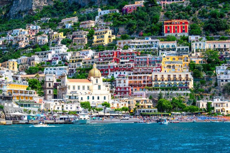 positano-vue Cote Amalfitaine Visites avec Guide