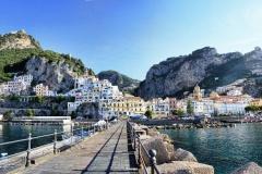 amalfi panorama Cote Amalfitaine Visites avec Guide