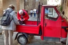 visite avec guide Toscane apecar
