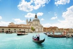 visites avec guide venetie Grand Canal Basilica Santa Maria della Salute